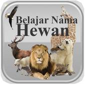 Belajar Nama Hewan icon