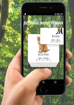 Belajar Nama Hewan apk screenshot