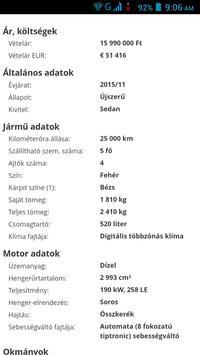 Eladó Autók Magyarország screenshot 9