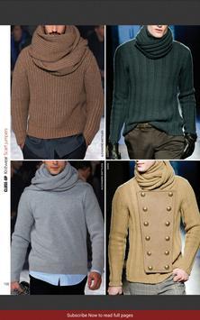 Close-Up Man Knitwear apk screenshot