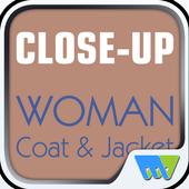 Close-Up Woman Coat & Jacket icon