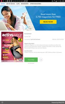Activewear poster