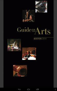 Boston-Guide for the Arts apk screenshot
