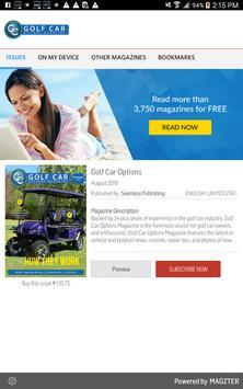 Golf Car Options poster