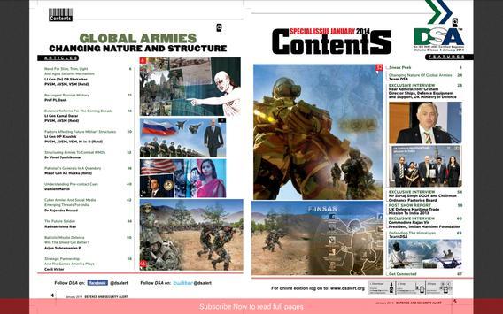 Defence and Security Alert apk screenshot