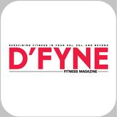 D'FYNE Fitness Magazine icon