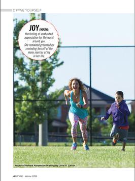 D'FYNE Fitness Magazine screenshot 2