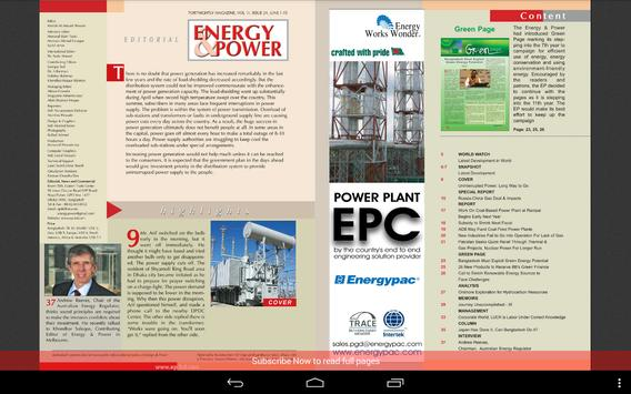 Energy & Power apk screenshot