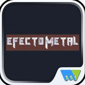 Efecto Metal icône