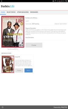 Forbes Life Africa poster