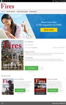 Fires Bulletin poster