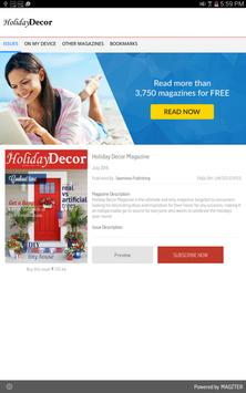 Holiday Decor poster