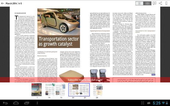Plastics News - Middle East apk screenshot