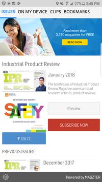 Industrial Product Review poster