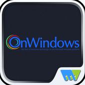 On windows icon