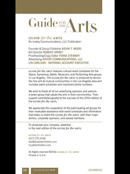Los Angeles-Guide for the Arts screenshot 6