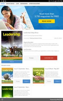Leadership Today Africa poster