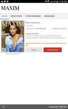 Maxim Indonesia الملصق