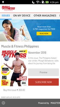 Muscle & Fitness Philippines poster