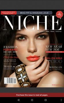 NICHE Fashion/Beauty magazine apk screenshot