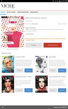 NICHE Fashion/Beauty magazine poster