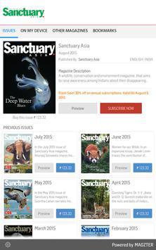 Sanctuary Asia poster
