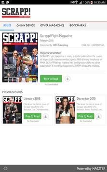 Scrapp! Fight Magazine poster