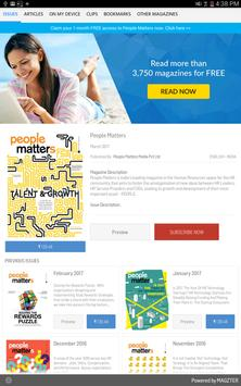 People Matters poster