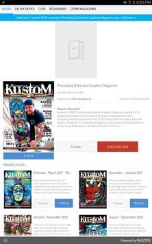 Pinstriping & Kustom Graphics poster