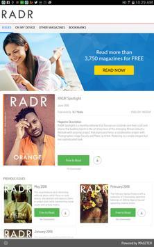 RADR Spotlight ポスター