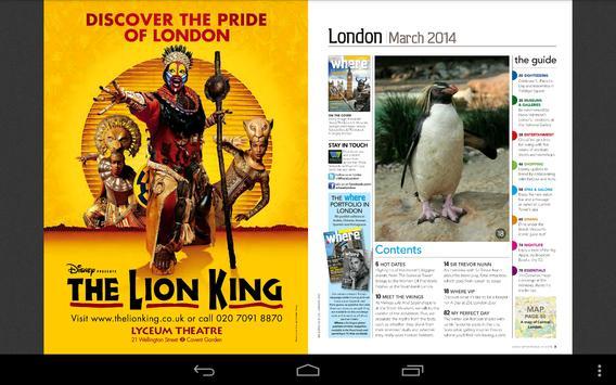 Where London apk screenshot