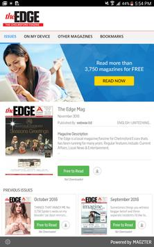 The Edge Mag poster