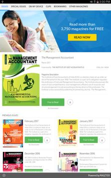 The Management Accountant poster
