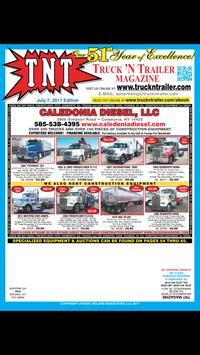 Truck N Trailer Poster