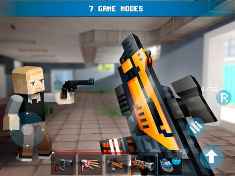 Mad GunZ - shooting games, online, pixel shooter apk screenshot