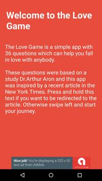 Love Game poster