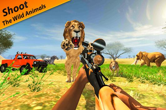 Wild Animals Hunter: Sniper Shooter screenshot 5