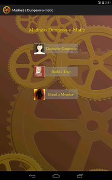 Dungeon-o-matic apk screenshot