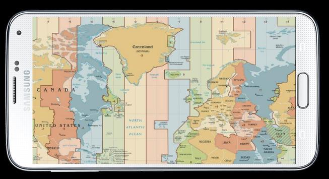 World map time zone descarga apk gratis viajes y guas aplicacin world map time zone captura de pantalla de la apk gumiabroncs Choice Image