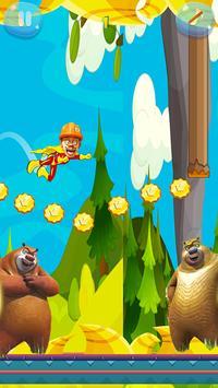 super bablu dablu adventure game poster