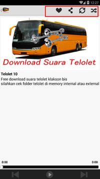Suara Telolet Klakson Bus screenshot 7