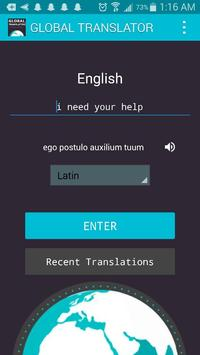 Global Language Translator : Quick Translation poster