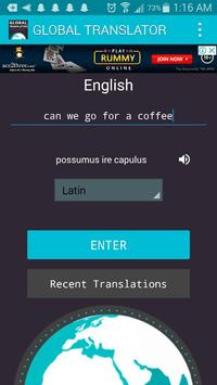 Global Language Translator : Quick Translation screenshot 3