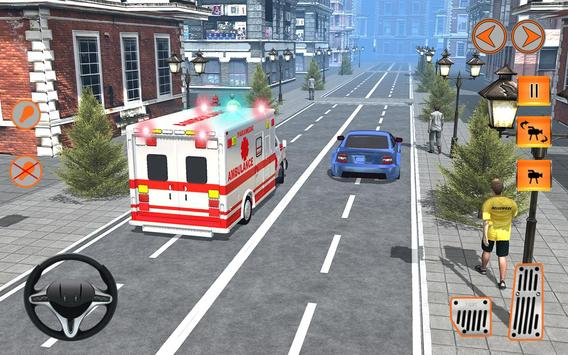 911 Ambulance Rescue Mission poster