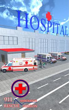911 Ambulance Rescue Mission apk screenshot