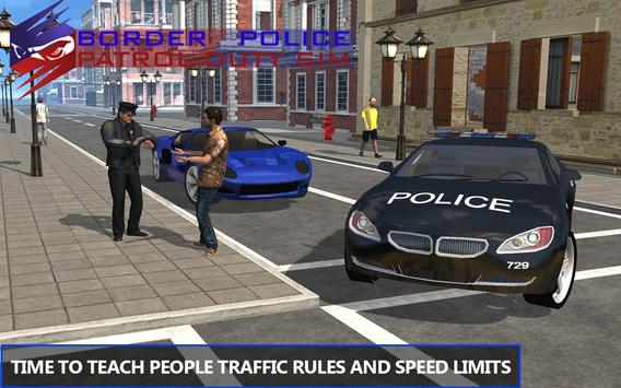 Border Police Patrol Duty Sim poster