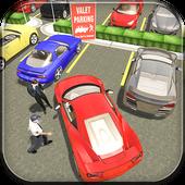 Hotel Valet Car Parking Sim icon