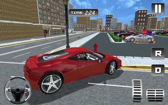 Hotel Valet Car Parking Sim poster