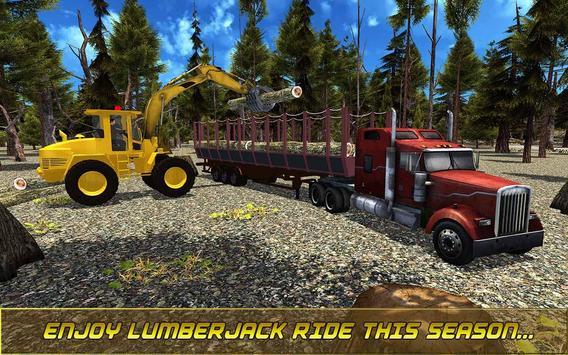 Modern Lumberjack Jungle Duty apk screenshot