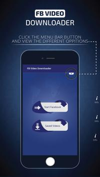 Facebook Video Downloader 2018 poster